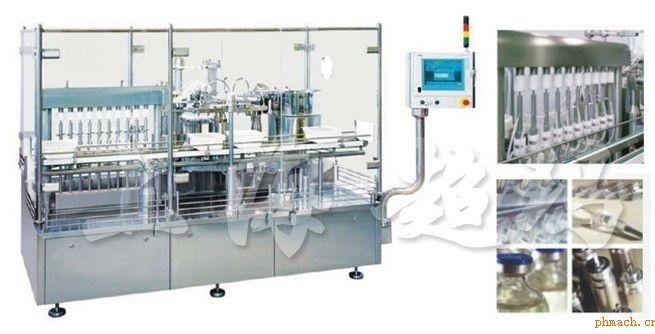 scm-g400直线双排灌装机